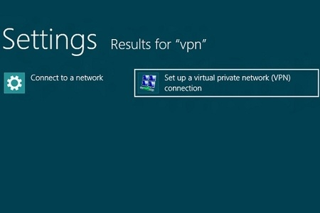 How to set up a VPN Connection on Windows 8